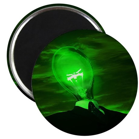 "Bulb Head 2.25"" Magnet (10 pack)"