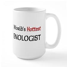 World's Hottest Enologist Large Mug