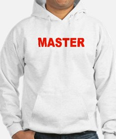 MASTER-RED LETTERS Hoodie