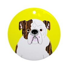 Bully (Brindle) Ornament (Round)