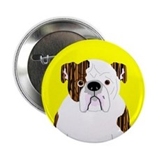 """Bully (Brindle) 2.25"""" Button (10 pack)"""
