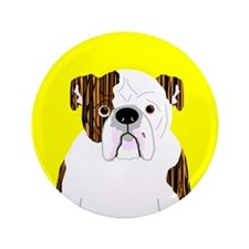 """Bully (Brindle) 3.5"""" Button (100 pack)"""