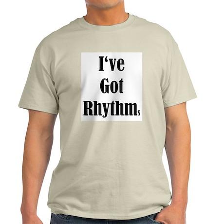 I've Got Rhythms Ash Grey T-Shirt