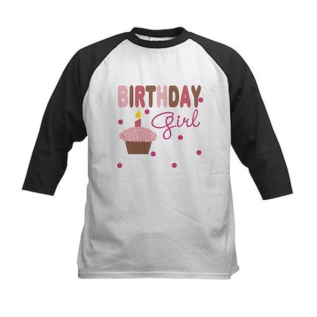 Birthday Girl Girls Tee Kids Baseball Jersey