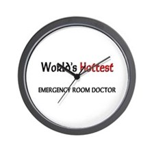World's Hottest Emergency Room Doctor Wall Clock