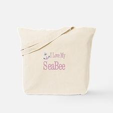 i love my seabee Tote Bag