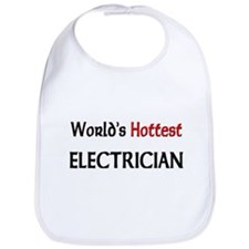 World's Hottest Electrician Bib