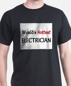World's Hottest Electrician T-Shirt