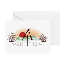Asian Appalachian Trail Greeting Card