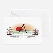Asian Appalachian Trail Greeting Card