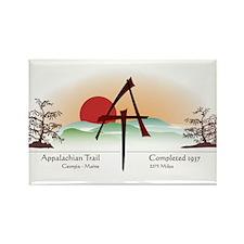 Asian Appalachian Trail Rectangle Magnet