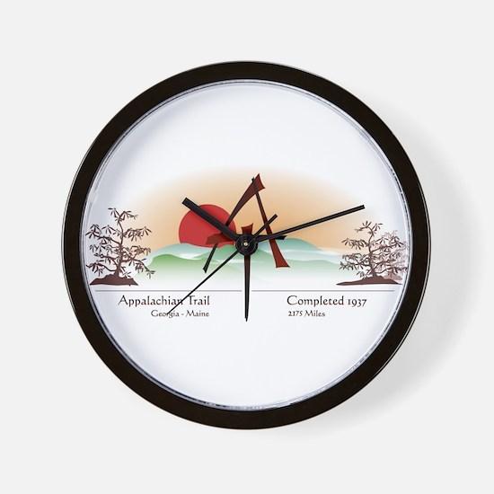Asian Appalachian Trail Wall Clock