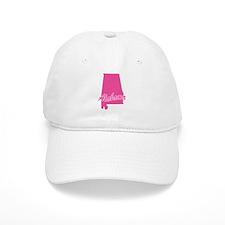 Pink Alabama Baseball Cap