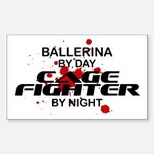 Ballerina Cage Fighter by Night Decal