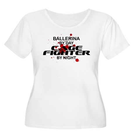 Ballerina Cage Fighter by Night Women's Plus Size
