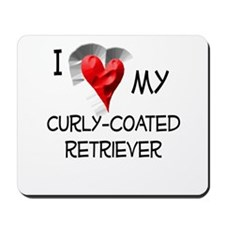 Curly-Coated Retriever Mousepad