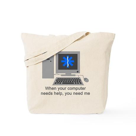 Computer Repair Tote Bag
