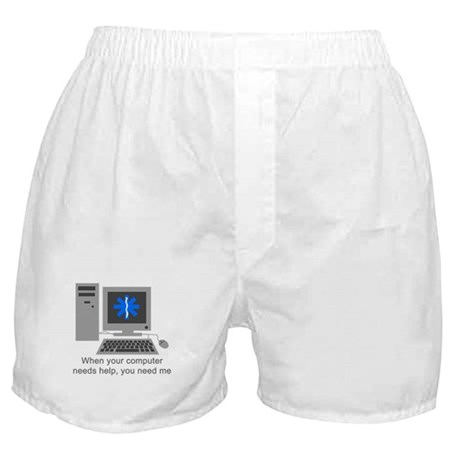 Computer Repair Boxer Shorts
