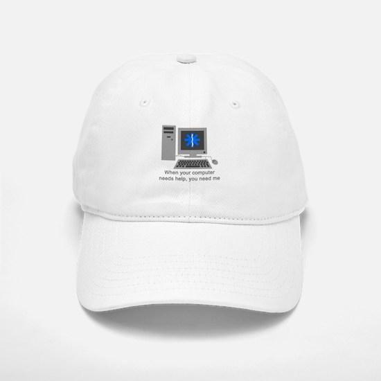 Computer Repair Baseball Baseball Cap