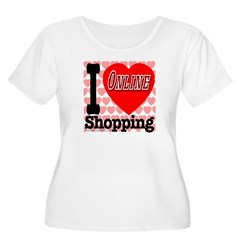 I Love Online Shopping T-Shirt