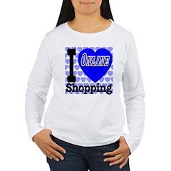 I Love Online Shopping T-Shirt