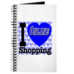 I Love Online Shopping Journal