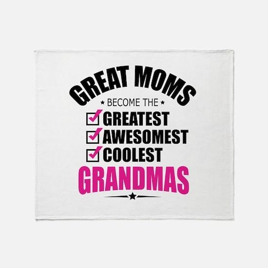 Grandma Throw Blanket
