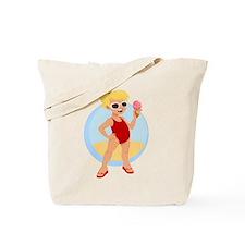 """Beach Girl"" Tote Bag"