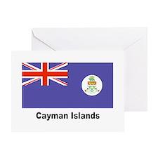 Cayman Islands Flag Greeting Card
