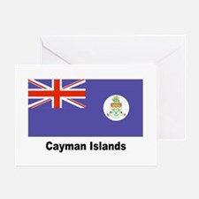 Cayman Islands Flag Greeting Card