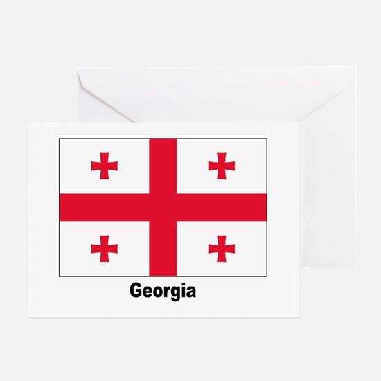 Georgia Flag Greeting Card