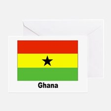 Ghana Flag Greeting Card