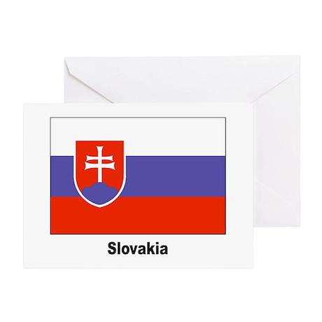 Slovakia Slovak Flag Greeting Card