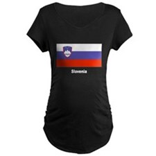 Slovenia Slovenian Flag T-Shirt
