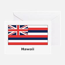Hawaii State Flag Greeting Card
