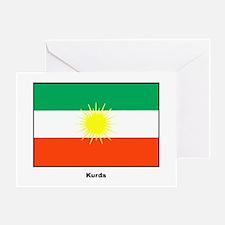 Kurd Kurdistan Flag Greeting Card