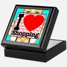 Express Your Passion For Shopping Keepsake Box