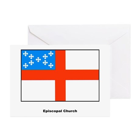 Episcopal Church Flag Greeting Cards (Pk of 20)