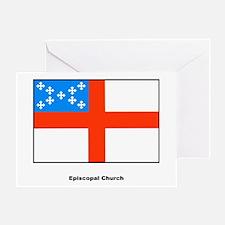 Episcopal Church Flag Greeting Card