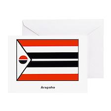 Arapaho Native American Flag Greeting Card