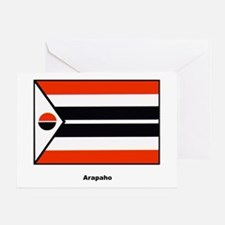 Arapaho Native American Flag Greeting Card