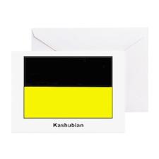 Kashubian Ethnic Flag Greeting Cards (Pk of 20)