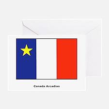 Canada Arcadian Flag Greeting Card