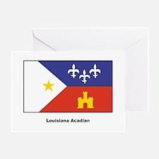 Louisiana Acadian Flag Greeting Card