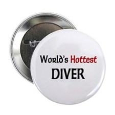 "World's Hottest Diver 2.25"" Button (10 pack)"