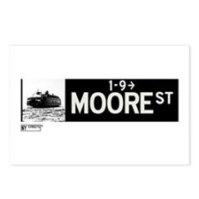 Moore Street in NY Postcards (Package of 8)