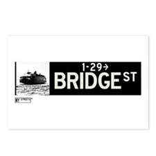 Bridge Street in NY Postcards (Package of 8)