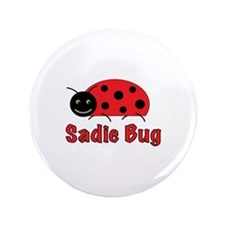 """Cute Ladybug 3.5"""" Button (100 pack)"""
