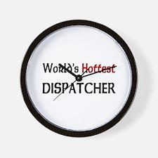 World's Hottest Dispatcher Wall Clock