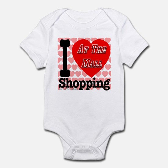 Promote Mall Shopping Infant Bodysuit